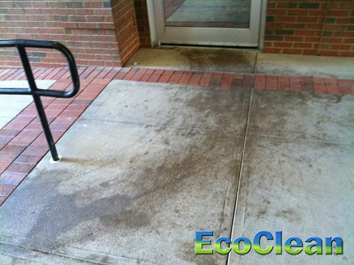 Hot Water Pressure Washing in Greenville, SC