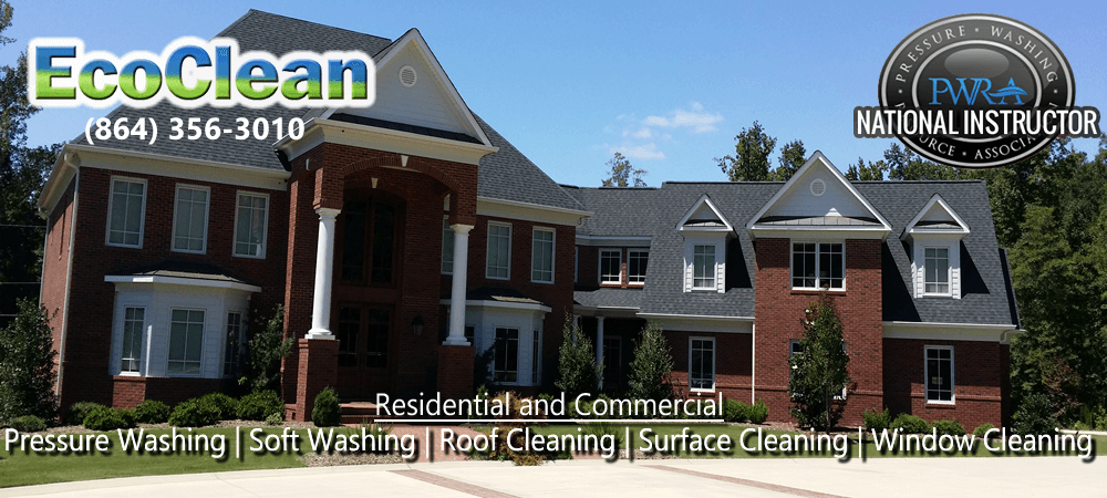 Pressure Washing in Liberty, SC | EcoClean